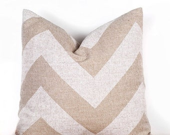 SALE ENDS SOON Chevron Print Throw Pillow, Chevron Decorative Throw Pillow, Cushion Covers, Sizes 12 14 16 18 20 22