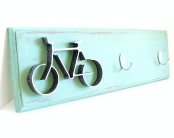 Metal Bicycle, Key Hook Holder, Key Hook Rack, Bike Key Hook, Entryway Key Holder Wall Decor Wall Signs
