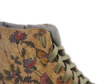 Sneaker Vegan - Cork Sneaker - Sneaker in Sughero - BellaStoria Vegan Shoes