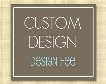 Custom Tumbler Design Fee