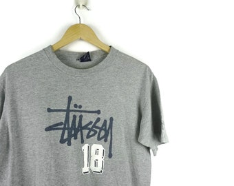 Stussy Vintage Limited Edition Big 4 Tokyo Los Angeles New York London / Vintage T Shirt / 90s Hip Hop Clothing