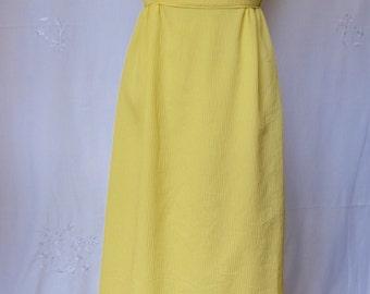 60's Handmade Maxi Bridesmaid Dress