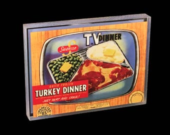 TV Dinner Desktop Art