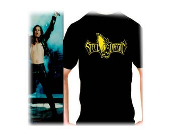 Steeldragon men t shirt different sizes Rockstar film