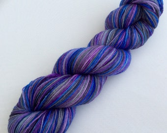 Eternity - hand dyed yarn 3.5 oz 437 yds