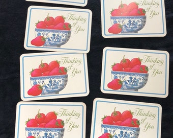 1970s- Thinking of You Postcards- Set of 11