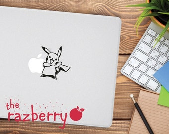 Cute Pikachu Macbook Decal Pokemon Macbook Decal Macbook Sticker Raichu Macbook Decal Pokemon Go Macbook Sticker Vinyl Gengar Decal Macbook