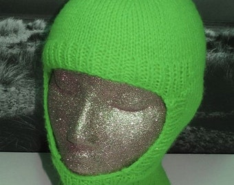 HALF PRICE SALE Instant Digital File Pdf Download knitting pattern only- Balaclava and Beanie pdf knitting pattern