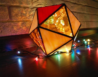 Yellow icosahedron