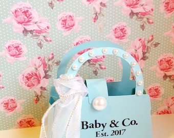 Baby and Co./Bridal and Co./Tiffany & Co. Inspired Party Favors Purse