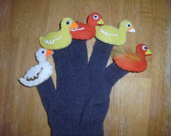 5 Little Ducks Glove Set