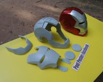 Iron man helmet mark 5 replica  raw cast lifesize