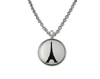 France Eiffel Tower Pendant Necklace
