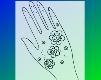 Henna Tattoo Fundraiser & Festival Design Book Quick And Easy Henna Designs For Events eBook