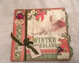 Winter Wonderland Christmas Album (Graphic 45)