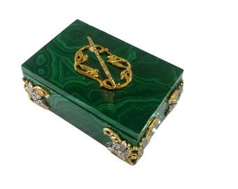 Silver Jewelry box for the first tooth