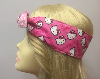 Hello Kitty Pink Chevron PinUps by Gracie