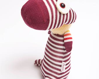 Sock doll, Dorian plushie toy, soft toy, cotton plush