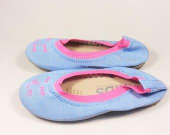 toddler girl ballet flat shoes size 10