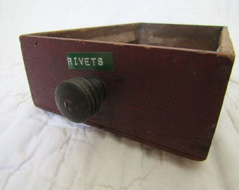 Vintage wood Drawer with handle Great for Storage Nice Look