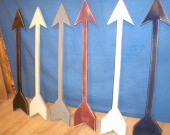 "Wood arrow, wooden arrow, wooden arrow wall art, Gallery, Large 24"" wooden arrow, wall decor, rustic decor, rustic arrow, nursery decor"