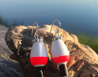 Fishing Cork Earrings