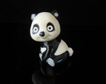 Vintage Toys, Collectible, Panda, Tao Tao und seine Freunde 1984, TAO TAO sitzend, Vintage KINDER Surprise Figurines