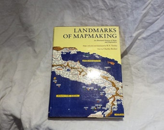 Map Making History, Landmarks of Mapmaking and Mapmakers, Vintage Cartography Book