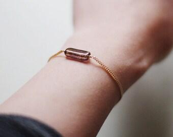 """minimalist bracelet by elephantine - """"zelda"""" handmade bracelet"""