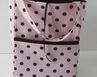 Tote Bag for Carrying 18 Inch  Dolls -- Print #28