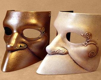 Bauta latex italian historical Mask for LARP, Renaissance fair, Costume and Cosplay