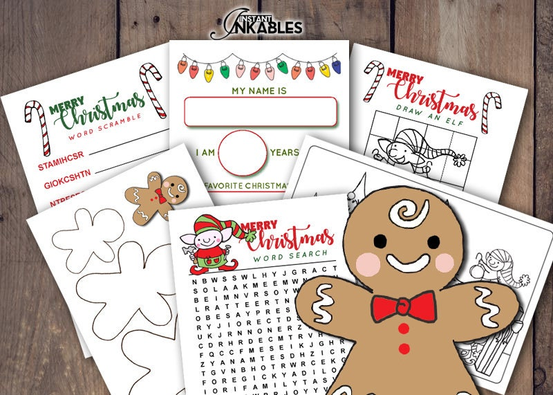Coloring Pages Xmas : Printable christmas activity sheets xmas for kids elves