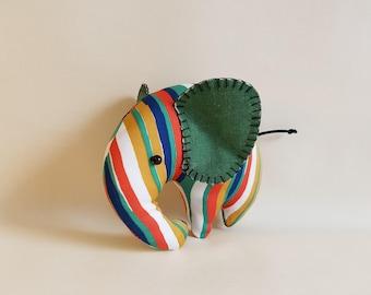 Handmade fabric Elephant