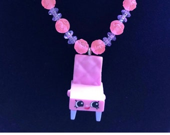 Shopkin Necklace - Shopkins Party Theme - Afforable gift for kids - Shopkins finds