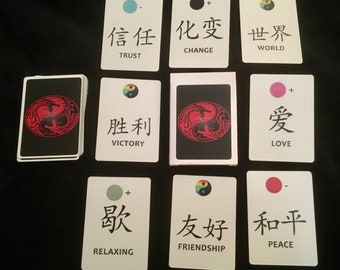 Oracle chinese tarot/ colour readings