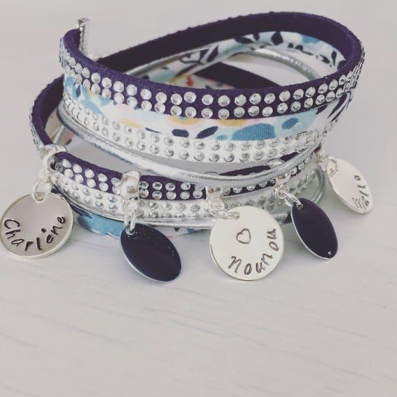 Bracelet Liberty wiltshire blue
