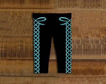 Laced Up Kids Leggings
