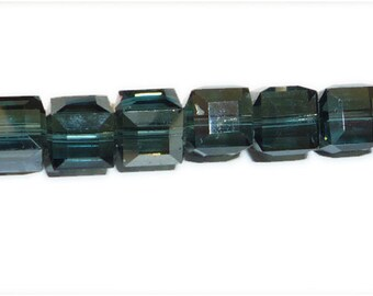 Montana Satin 5601 Swarovski Elements Crystal Cube Beads (6mm, 8mm, 10mm)