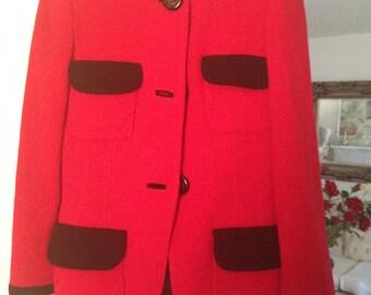 Vintage David Hayes gently worn ladies suit