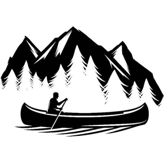 Kayak Logo 18 Kayaking Canoe Whitewater River Rafting Ore Row