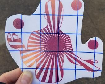 Juggler Sticker Decals - Holographic