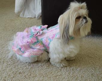 Pretty pink harness dress Small
