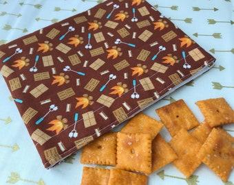 Campfire S'mores Reusable Snack Bag