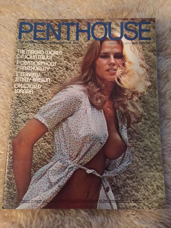 vintage penthouse magazine february 1975