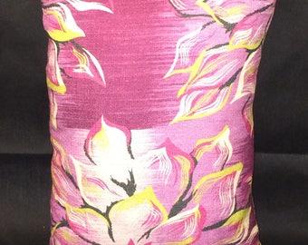 Purple Flower Pillows