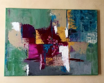 Abstract painting, abstract art, modern painting, wall art