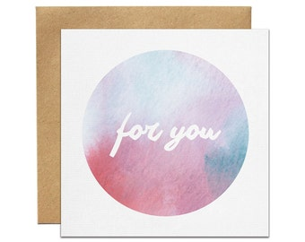 For You Greeting Card | Made In Australia