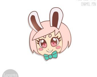 ENAMEL PIN   ORIGINAL  Bunny Girl
