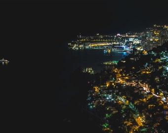 Monaco Nightscape - Photograph - FineArt