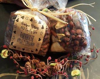 Farmhouse Apples & Cinnamon Bowl Fixins
